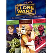 Star Wars The Clone Wars Volumes 3-Pack (DVD) by WARNER HOME ENTERTAINMENT