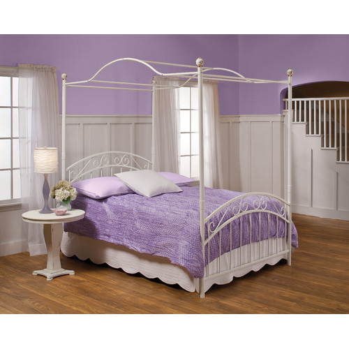 Hillsdale Furniture Emily Canopy Bed, Multiple Sizes by Hillsdale