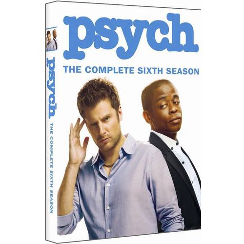 PSYCH-COMPLETE SEASON 6 (DVD) (4DISCS/ENG SDH/1.78:1)