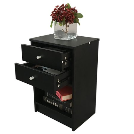 Modern Side Table Modern Bedside Table Design.Nightstand With 2 Drawer Bedroom Side Table Bedside Table Modern Design Accent Table Sturdy And Easy
