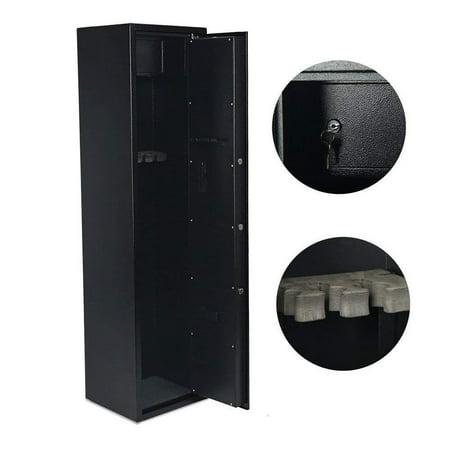 Ktaxon Electronic 5 Rifle Gun Safe Large Firearms Shotgun Storage Cabinet with Small Lock Box