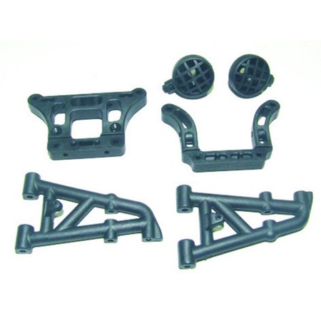 8ight Rear Shock - Redcat Racing 69735 Rear Pivot Blocks and Shock Tower Mounts w/ Light Pods