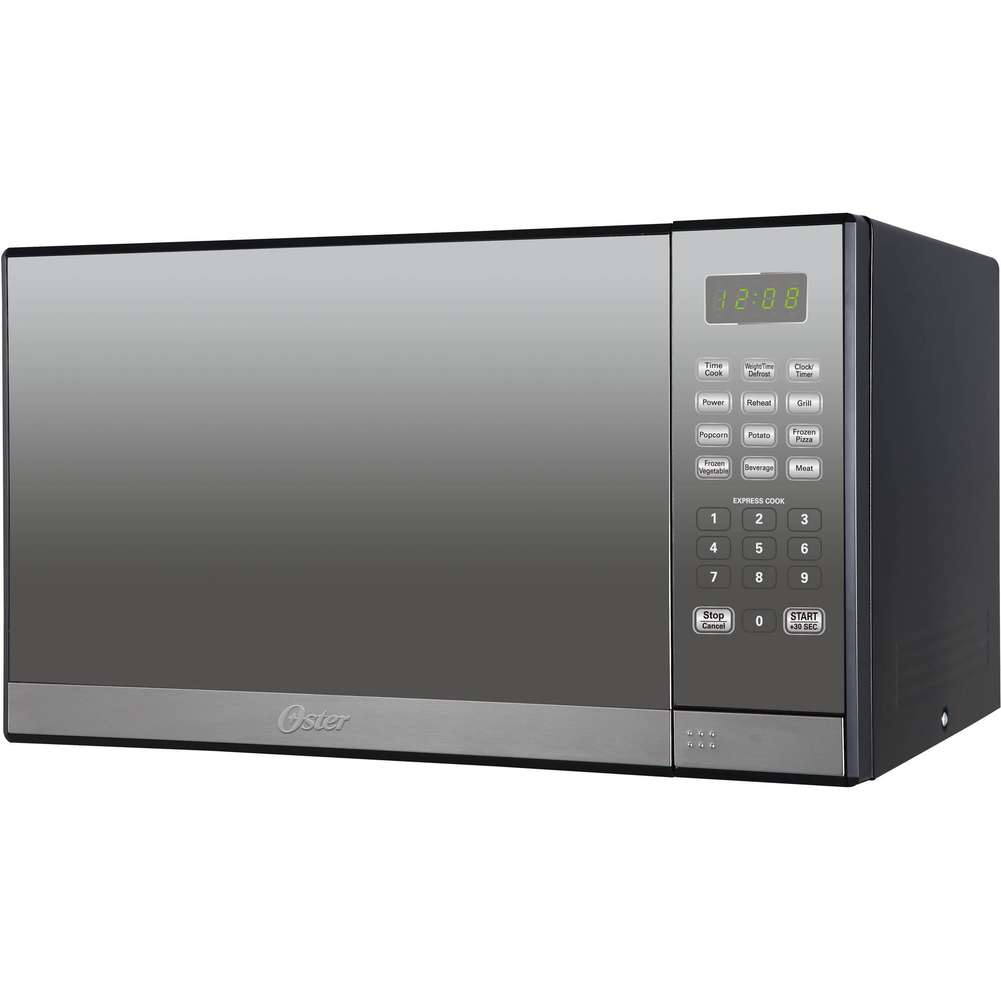 oster 1 3 cu ft microwave oven with grill stainless steel with rh walmart com Oster Om1201e0vg Manual oster microwave oven manual 1450