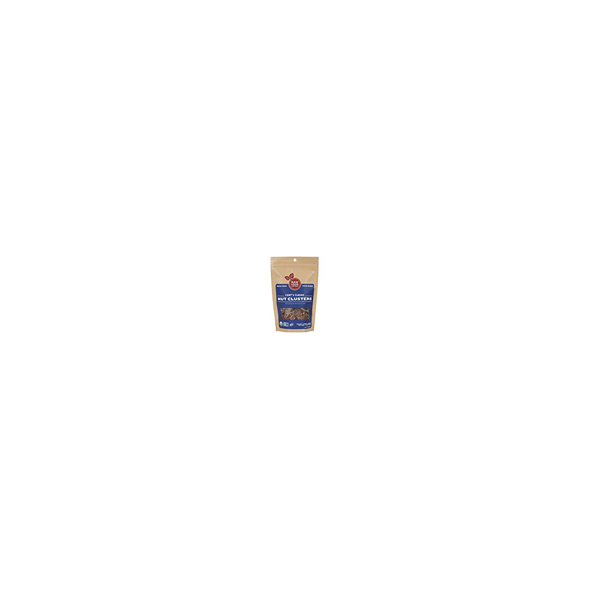Raw Food Central Nut Cluster, Organic, Curt Clsc (Case of 8 3.5 oz) by Raw Food Central
