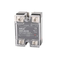 ASH-40DD 3-32VDC to 5-60VDC 40A Single Phase Solid State DC-DC Relay
