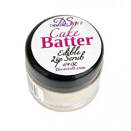 Cake Stuff (Cake Batter Lip Scrubbie by Diva Stuff - 1/4)