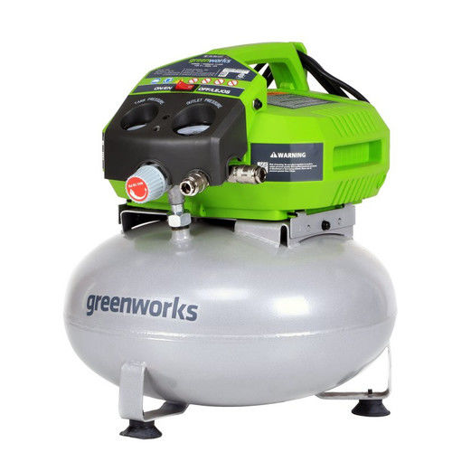 Greenworks 41522 12 Amp 6 Gallon Air Compressor