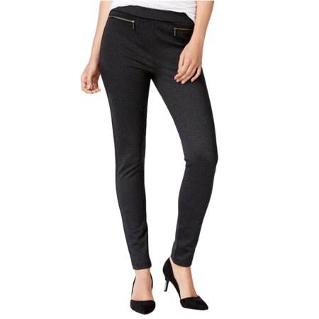 bar III Womens Zipper Detail Casual Leggings