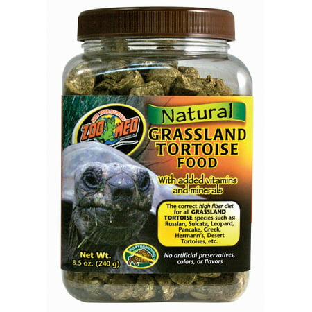 Zoo Med Laboratories Inc-Natural Grassland Tortoise Food 8.5 Ounce (Lab Block Rat Food)