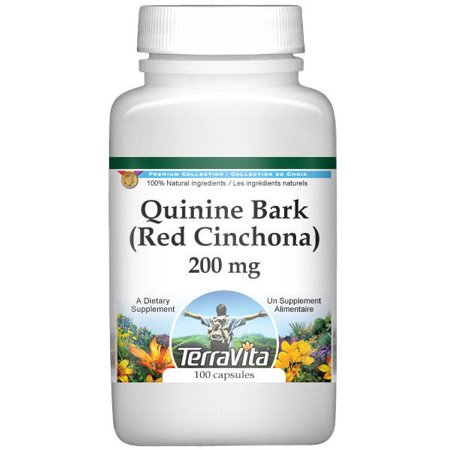 Quinine Bark (Red Cinchona) - 200 mg (100 capsules, ZIN: 513866)