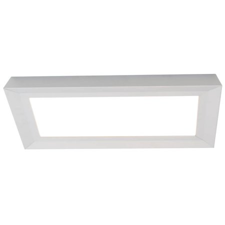 Led Flush Mount Satin (LED Flush Mount Ceiling Light in Satin Nickel Finish )