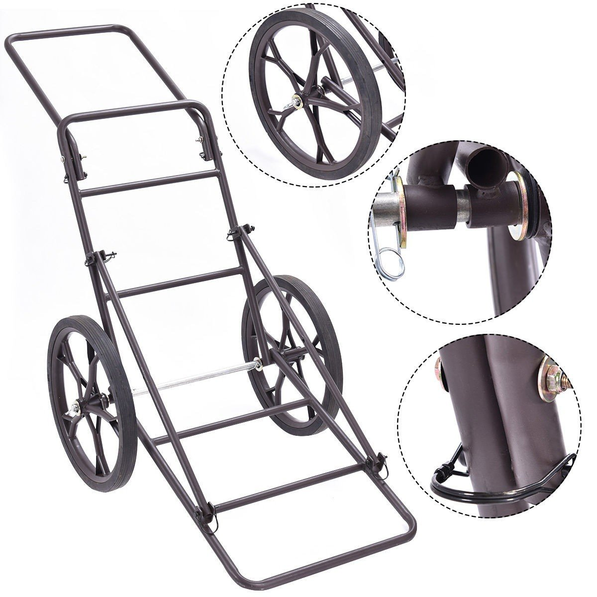 Deer Cart 500LB Game Hauler Utility Gear Dolly Cart Hunting Accessories