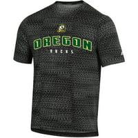 Men's Russell Athletic Black Oregon Ducks Synthetic T-Shirt