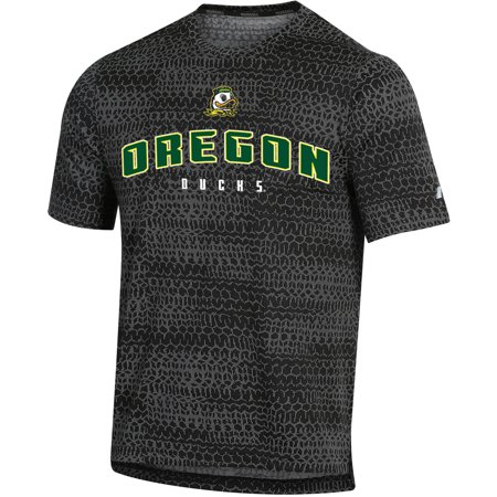 Men's Russell Black Oregon Ducks Synthetic - Oregon Duck Shop