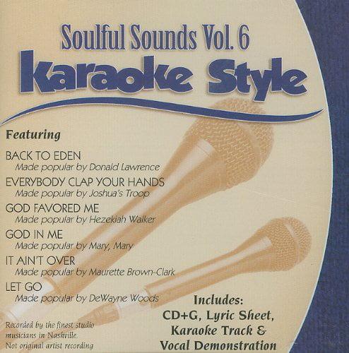 Soulful Sounds Karaoke Style, Volume 6