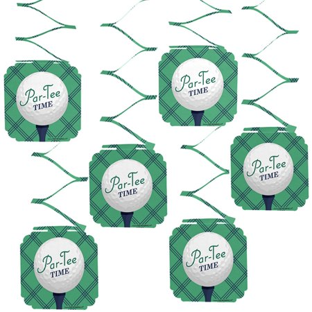Golf Parties (Par-Tee Time - Golf - Birthday or Retirement Party Hanging Decorations - 6)