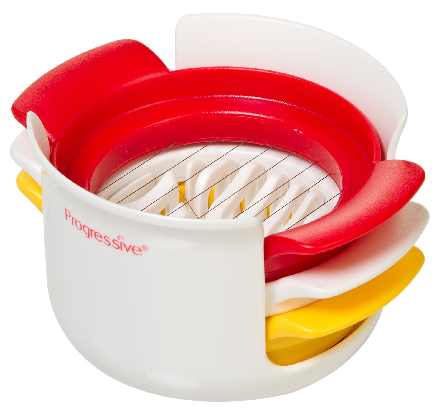 Prepworks By Progressive Compact Egg Slicer Slice, Wedge, & Half Eggs, Mushrooms