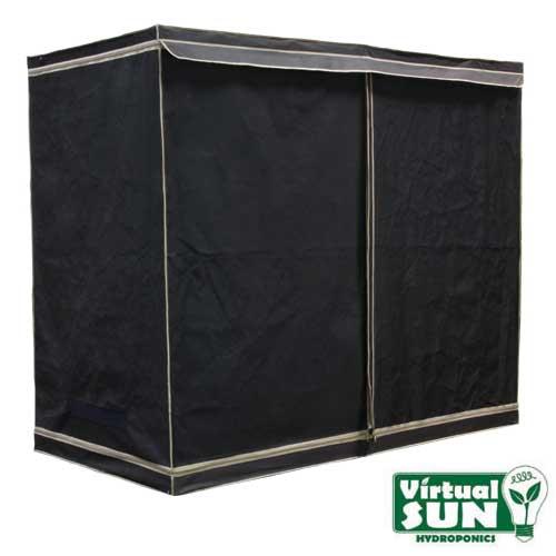 Virtual Sun Reflective Mylar Hydroponic Plant 96x48x78 Grow Tent Box - VS9600-48