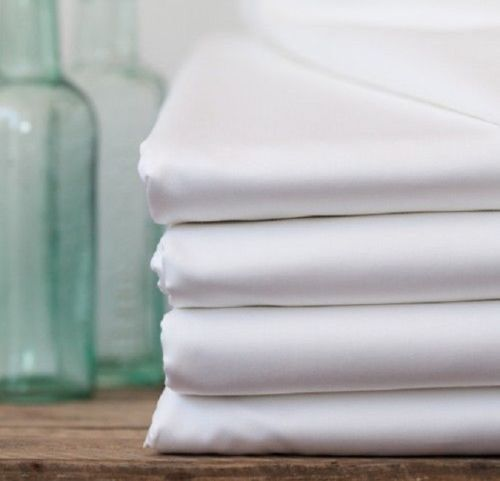 "GHP 12-Pcs Queen Size 60""x80""x9"" White Cotton T-180 Percale Poly Cotton Fitted Sheets"