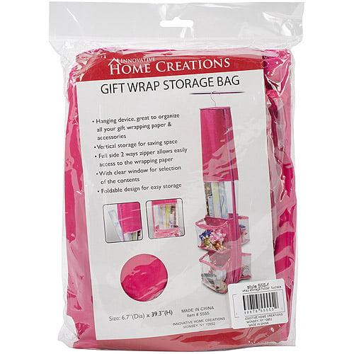 Gift Wrap Storage Holder, Fuchsia