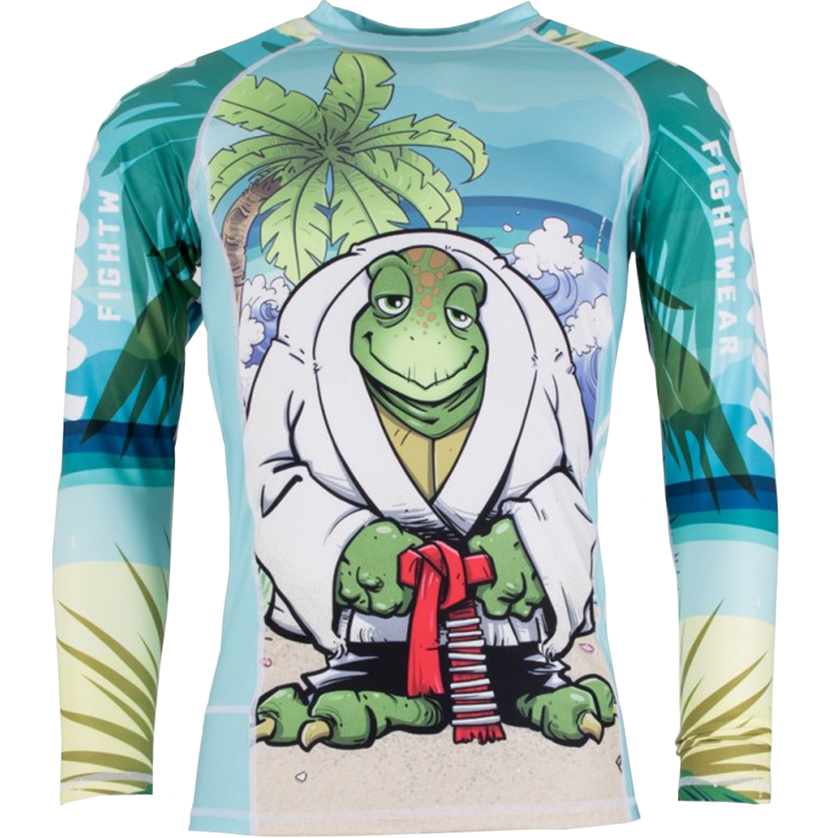 Tatami Turtle Guard Long Sleeve BJJ Rashguard