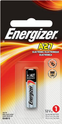 Eveready Battery A27bp 12V Keyless Auto-Entry Battery Batteries, Photo, Remote Control by Energizer Holdings, Inc
