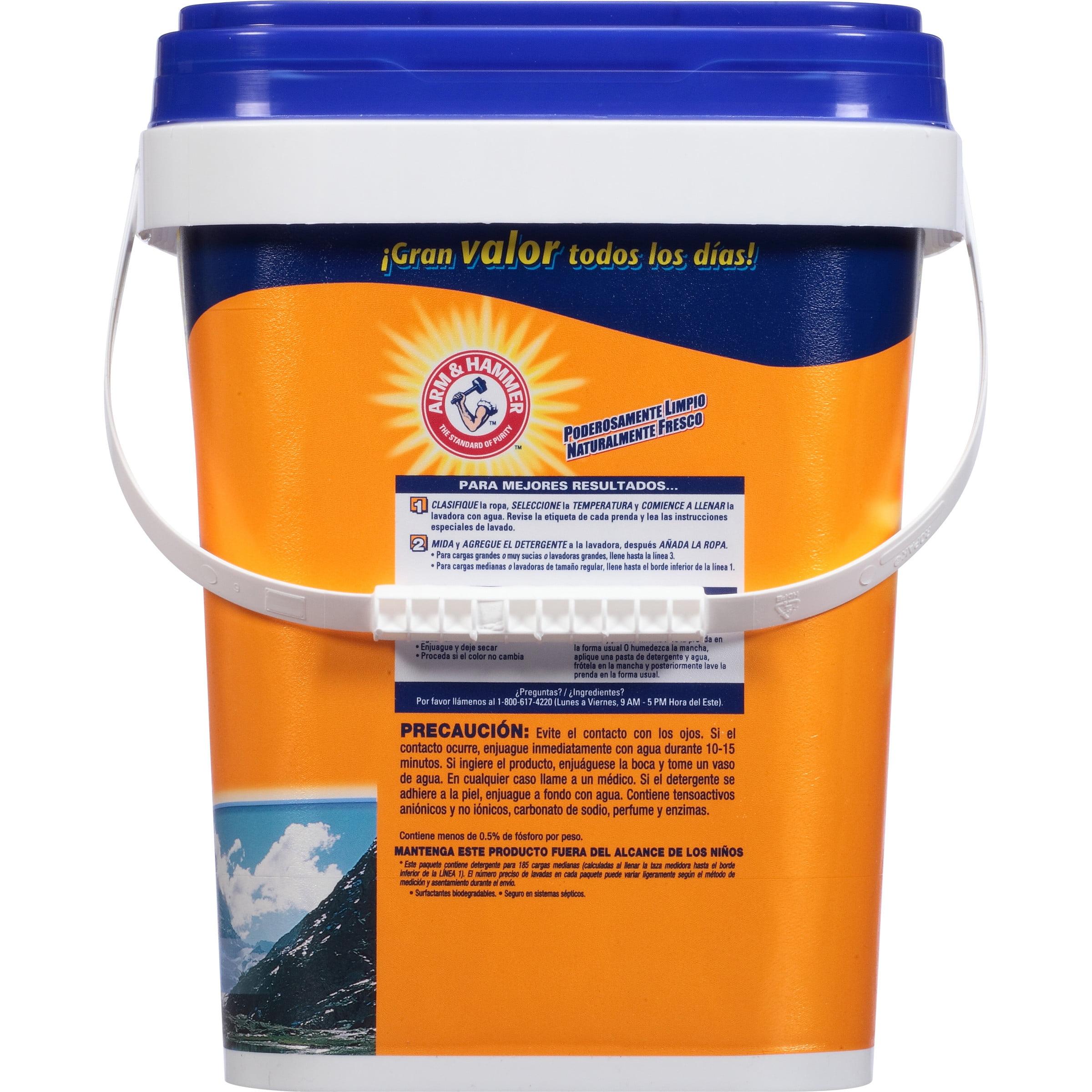 4b00371e Arm & Hammer Powder Laundry Detergent, Alpine Clean, 155 Loads 9.56 Lbs -  Walmart.com