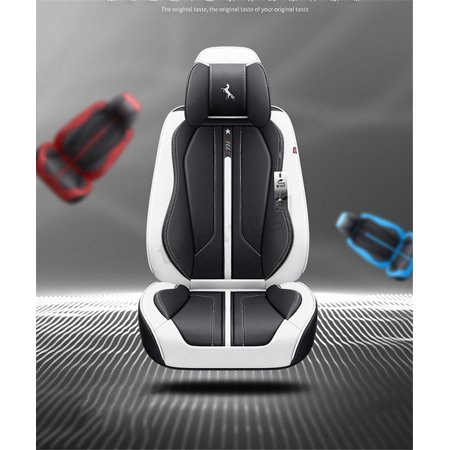 6D Deluxe 5 Seat Car Seat Cover Cushion Front Back Protector Surround Breathable  - image 1 de 5