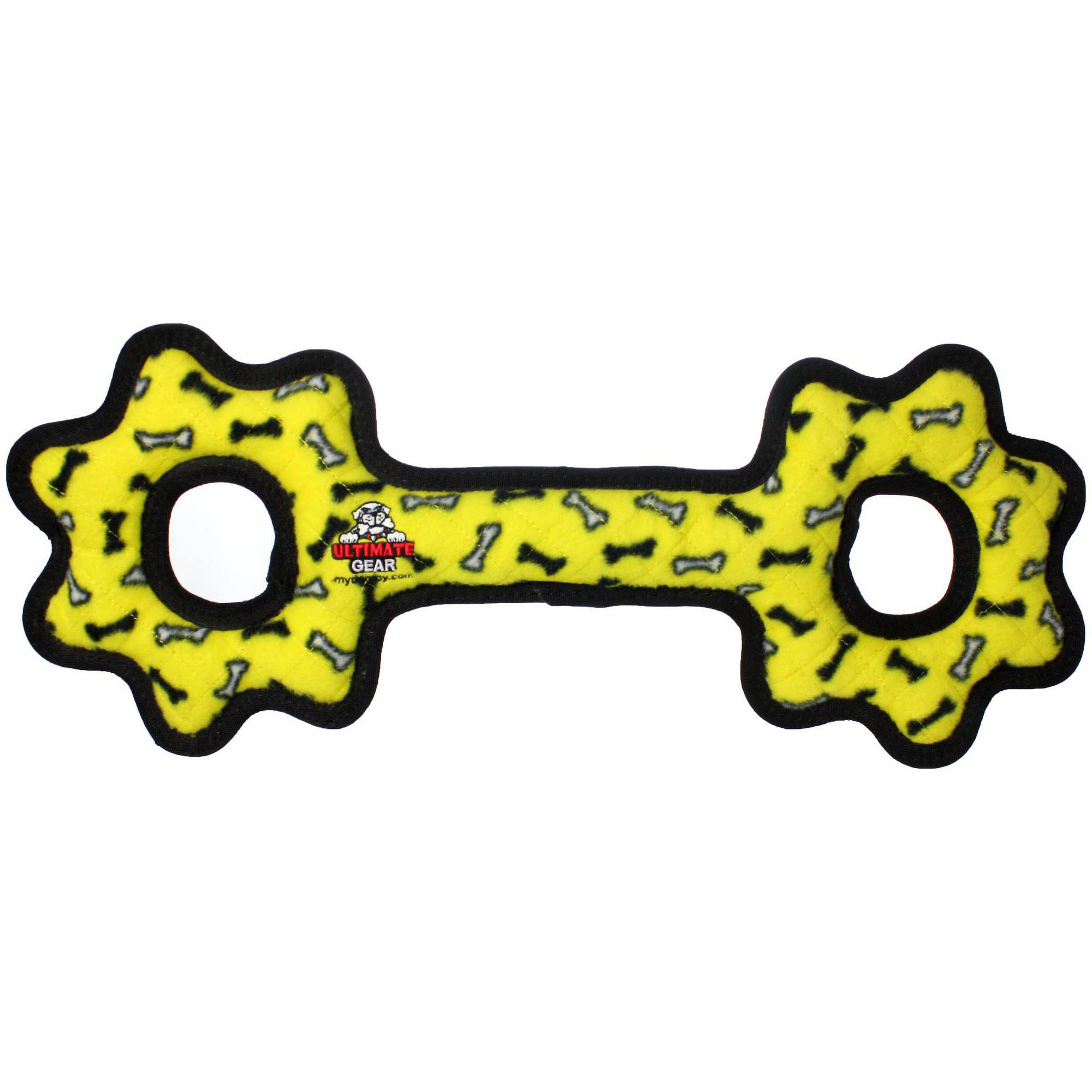Tuffy Ultimate Tug-O-Gear, Yellow Bone