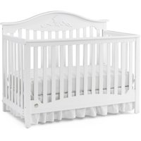 Fisher-Price Mia 4-in-1 Convertible Crib Snow White