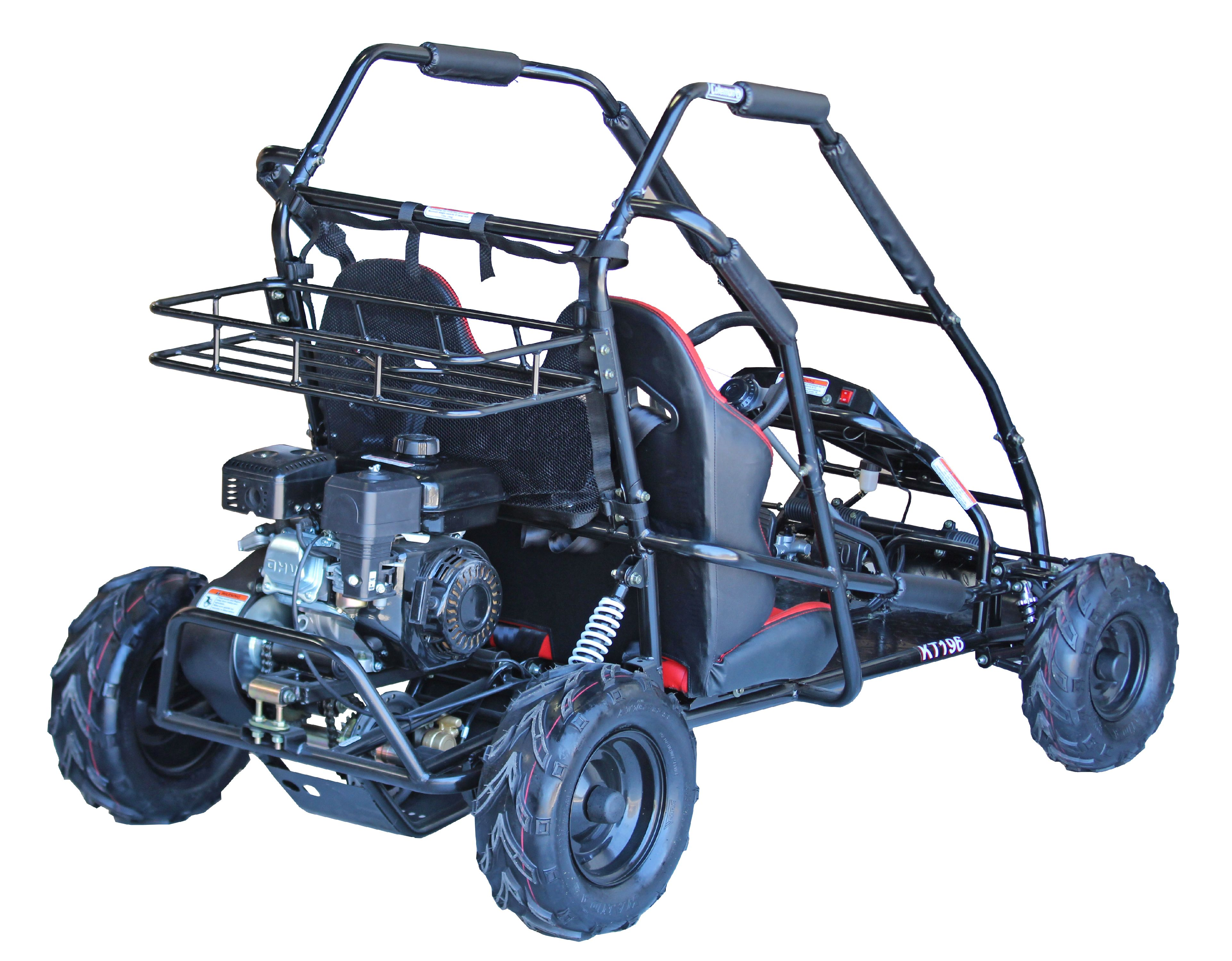 Coleman Powersports Kt196 196cc Gas Powered Go Kart Black Country Clipper Kohler Command Wiring Diagram