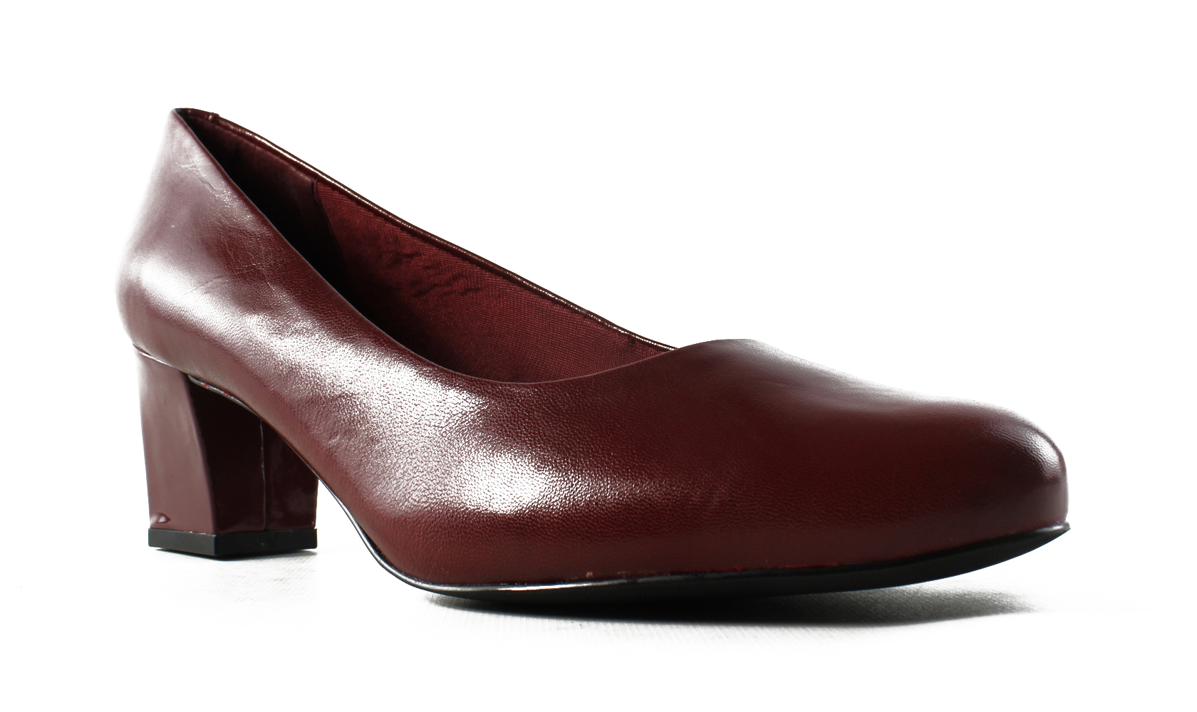 New Trotters Womens Candela DarkRed Pumps Size 8.5 Wide (C, D, W) by Trotters