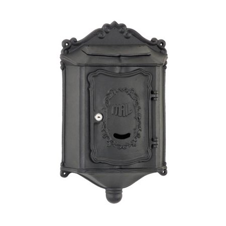 Image of Colonial Wallmount Mailbox with Locking Access Door