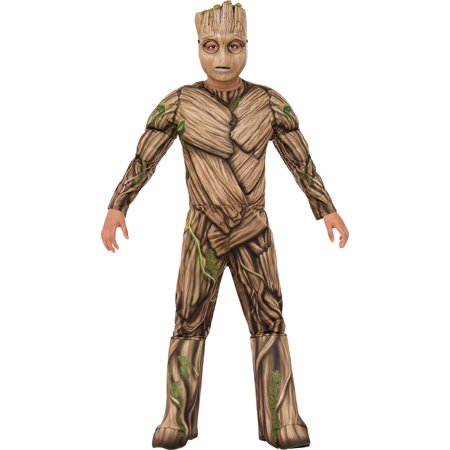 Guardians of the Galaxy Vol. 2 - Groot Deluxe Child Costume - I Am Groot Halloween Costume