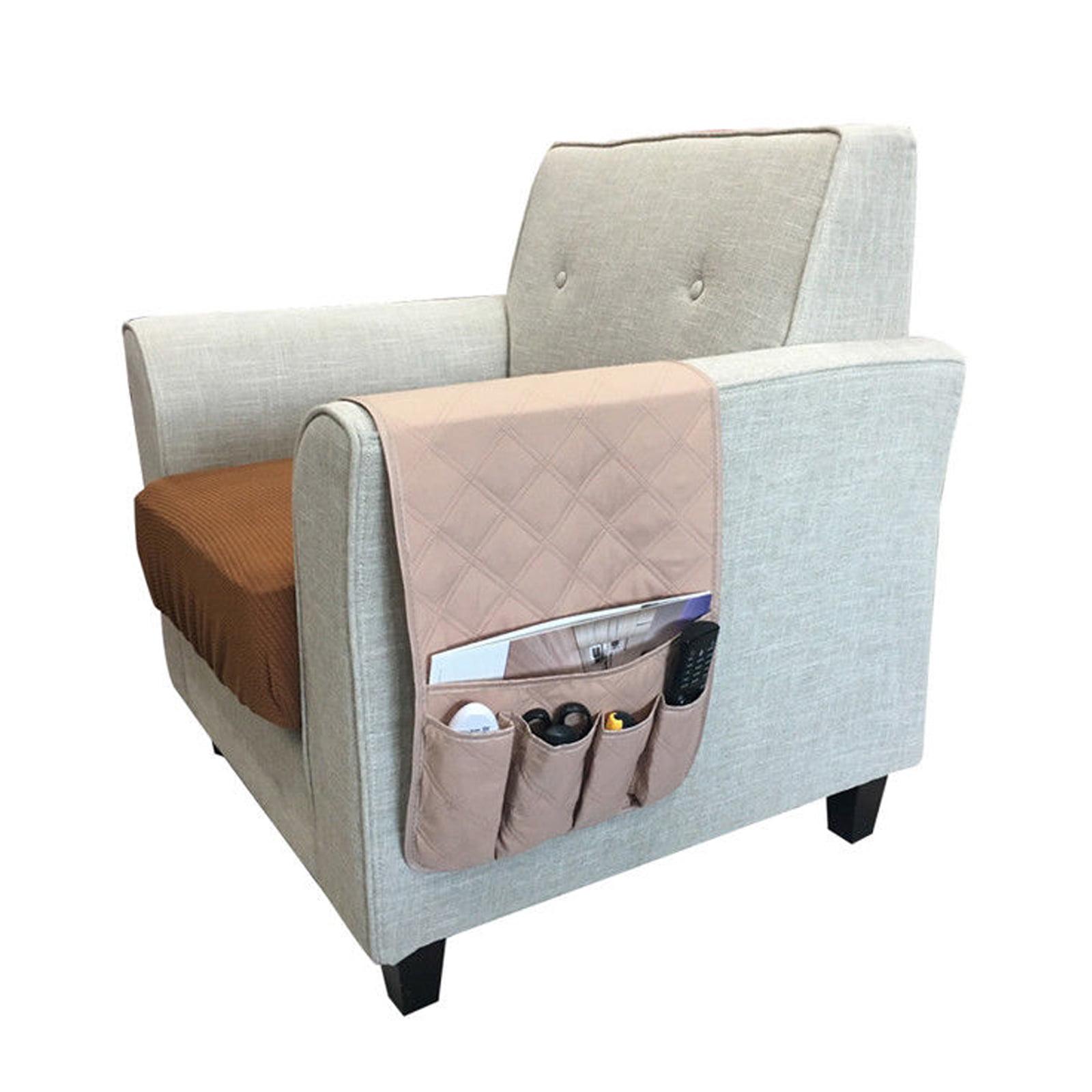 Couch Sofa Chair Armrest Remote Control Storage Organizer ...