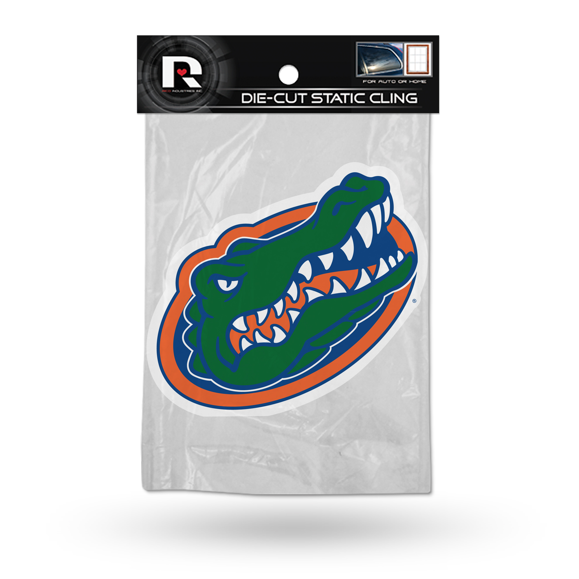 Florida Gators Official NCAA 5 inch  Car Window Cling Decal by Rico