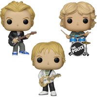 Funko POP! Rocks The Police Collectors Set - Sting, Andy Summers, Stewart Copeland