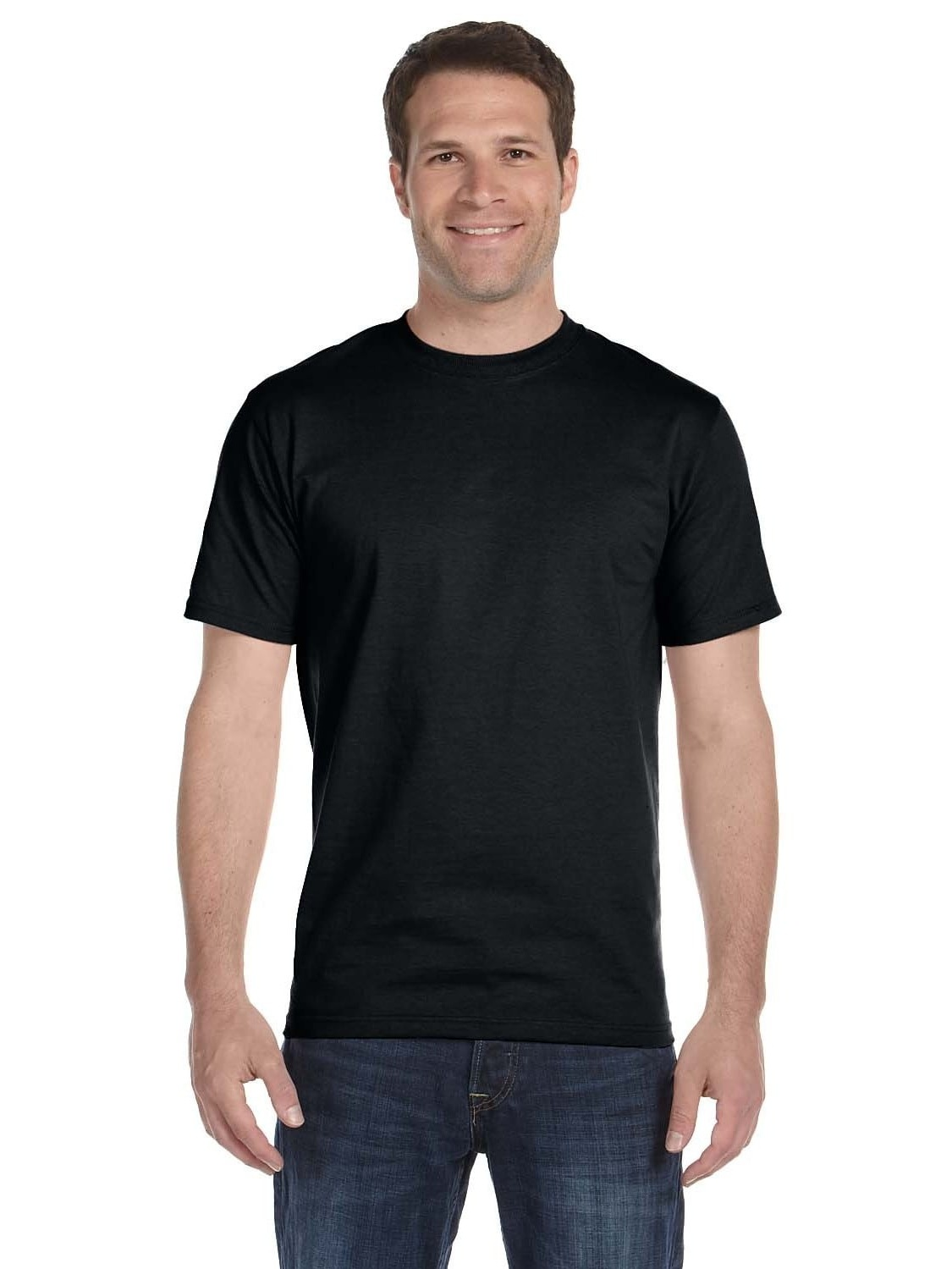 Gildan  Men's Black Dryblend 50/50 Undershirts (Pack of 9)