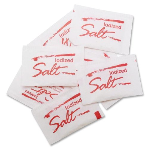 Marjack SFL14390 Salt Packet - 3000 / Box
