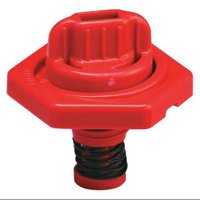 TRICO 24012 Breather Vent,HDPE,1.50 in. H,Red