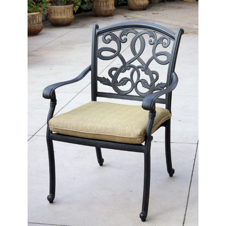Magnificent Fleur De Lis Living Windley Stacking Patio Dining Chair With Cushion Home Interior And Landscaping Eliaenasavecom