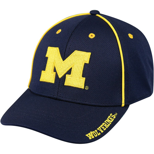 NCAA Michigan Wolverines Performance Fabric Hat