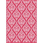 Craftwell eBosser Embossing Folders Universal Size By Teresa Collins-Beautiful Brocade