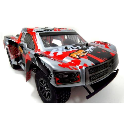 WL222 2.4G 1:12 Scale RC Buggy Truck Cross Country Racing Car High Speed Radio Control RTR - Silver