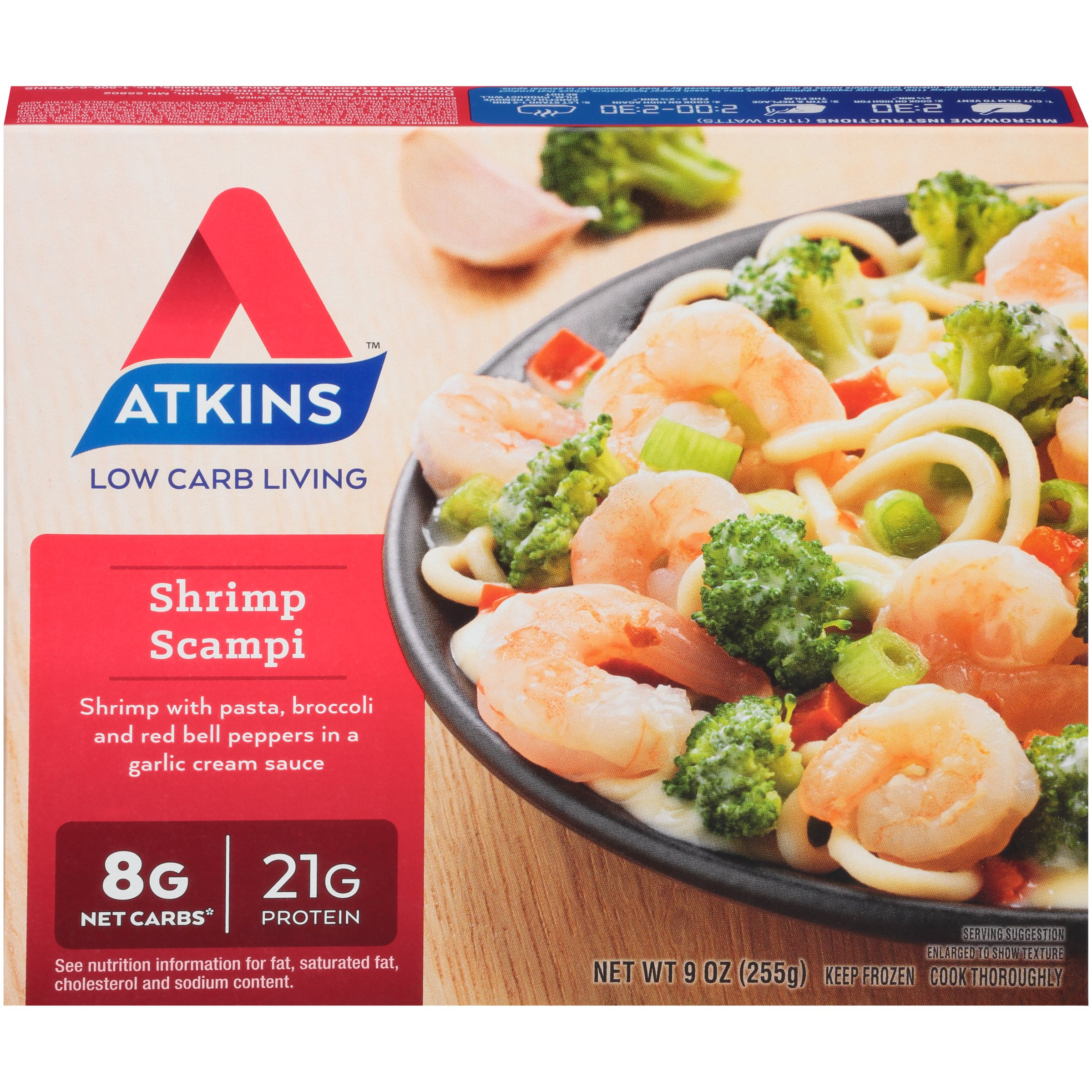 Atkins® Shrimp Scampi 9 oz. Box
