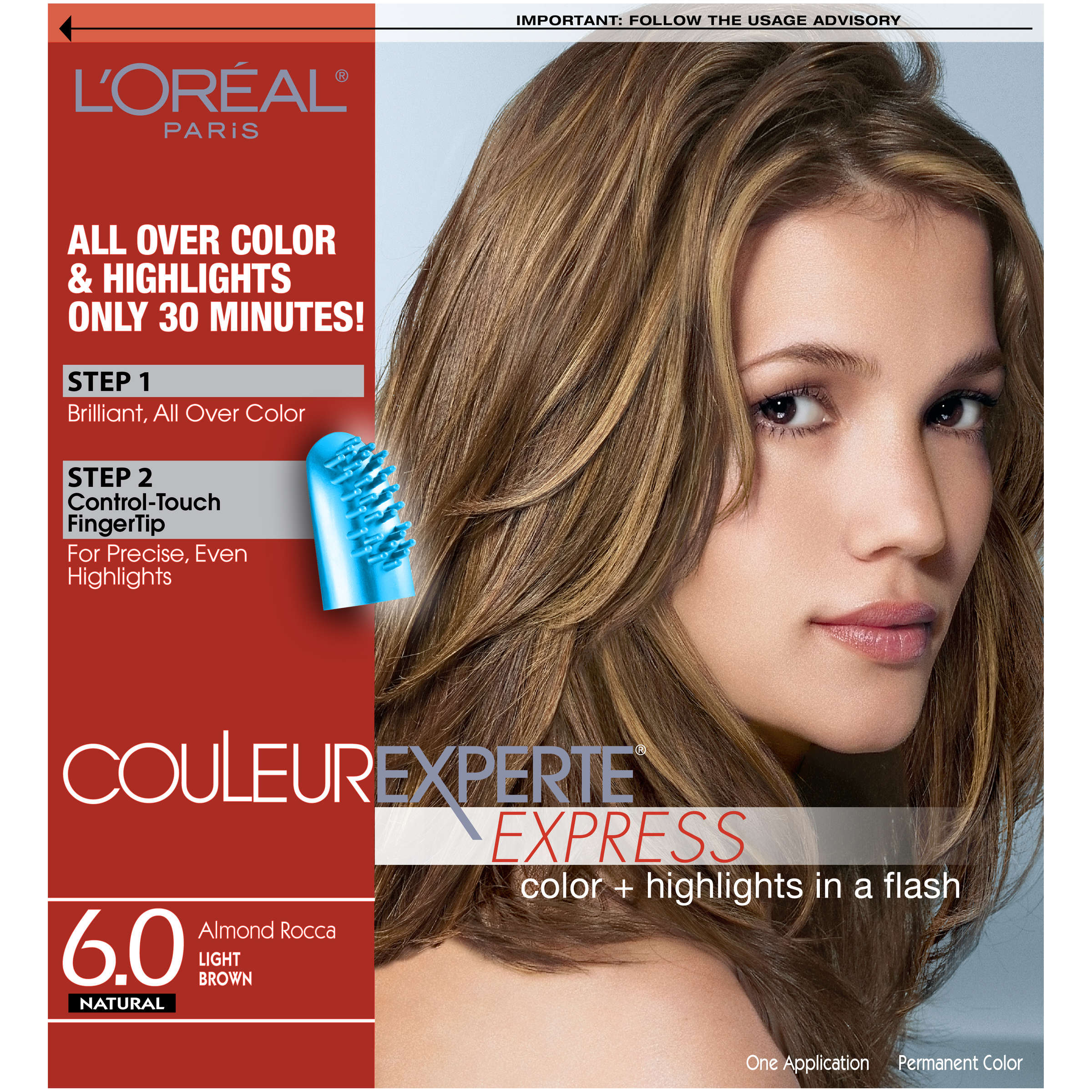 L Oreal Paris Couleur Experte Hair Color Light Brown Almond Rocca
