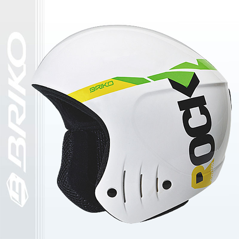 Briko Rocker Super Junior Helmet White- Size: 50CM by SOGEN SPORTS INC.
