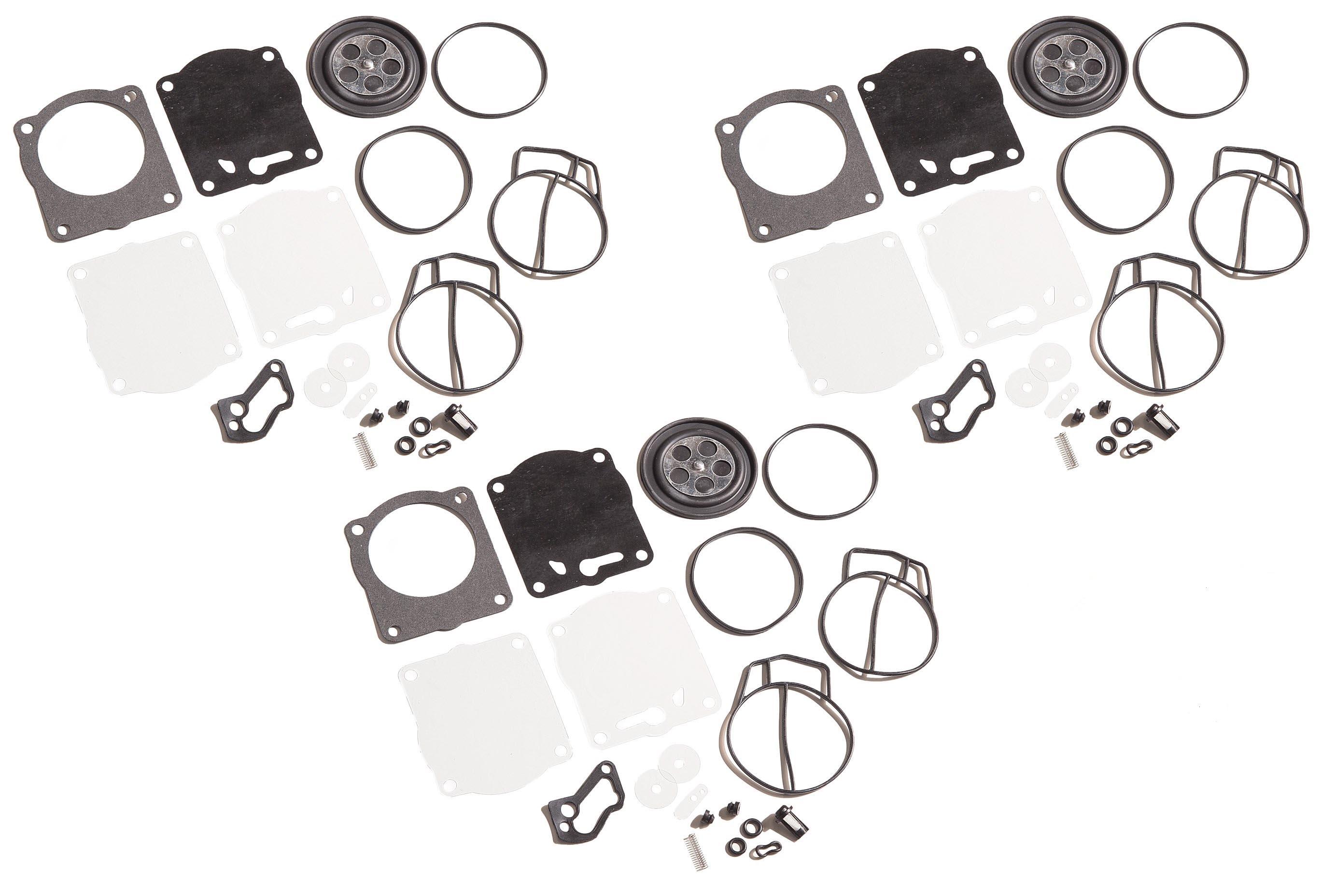 3 x Carburetor Carb Rebuild Repair Kits Fit for Yamaha XL XLT 1200 GP1200R GPr1200 Xl1200 XLT1200