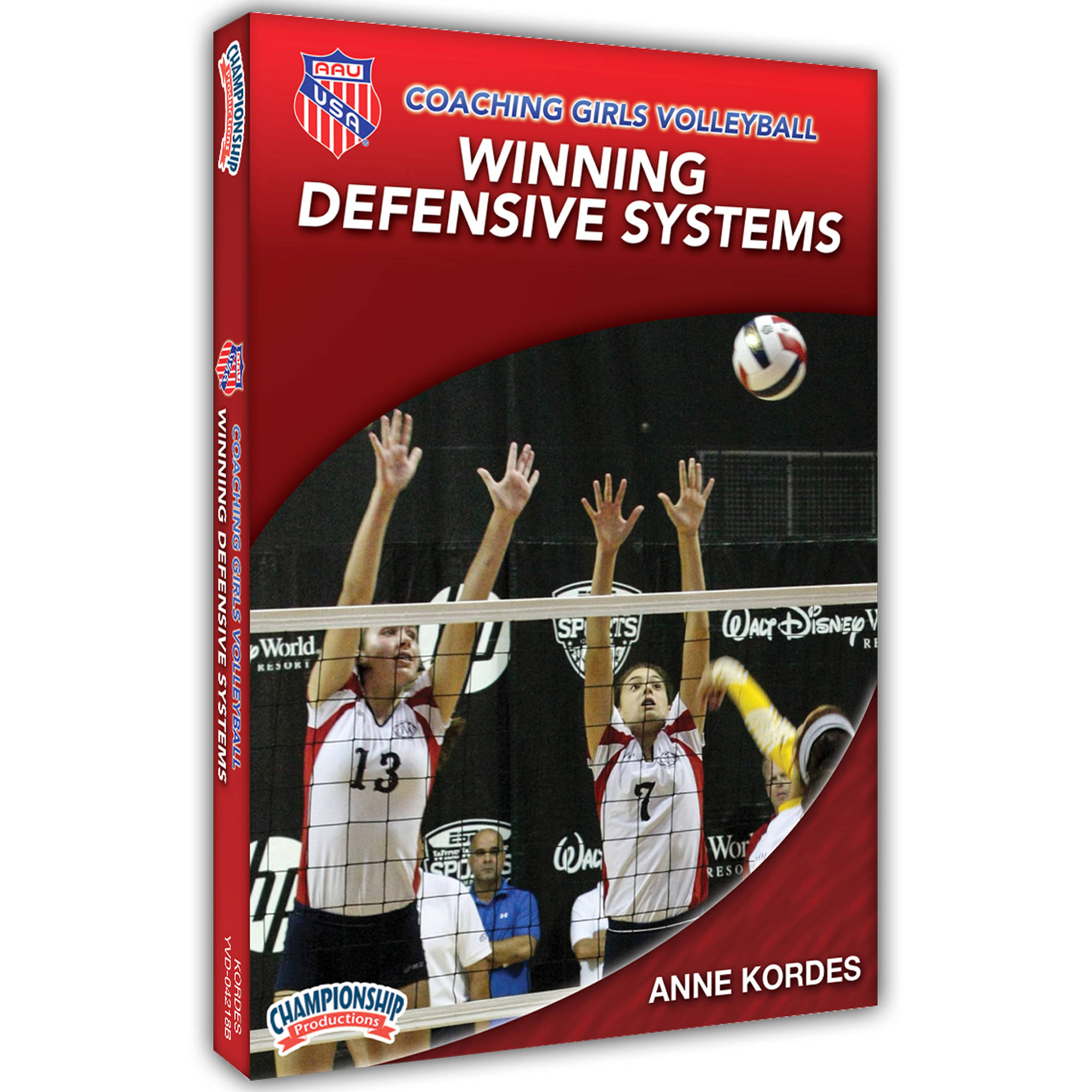 AAU Coaching Girls Volleyball Series: Winning Defensive Systems DVD by Championship Productions