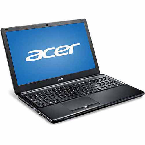 "Acer Black 15.6"" TravelMate Laptop PC with Intel Core i5-4200U Dual-Core Processor, 8GB Memory, 128GB SSD and Windows 7 Professional"